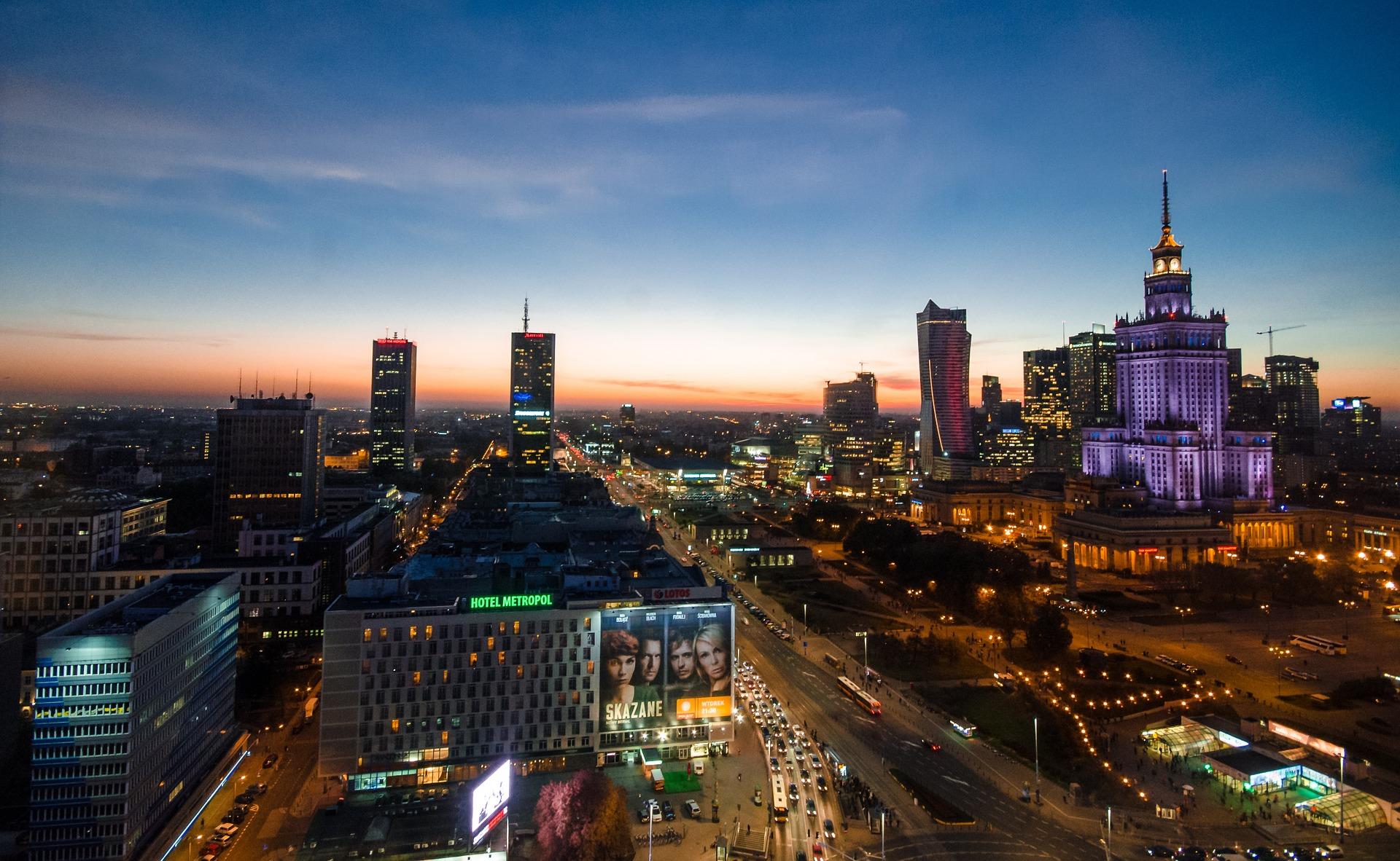 Panorama Warszawy (mazowieckie)